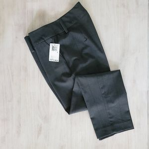 NWT TRINA TURK charcoal gray cropped dress pants